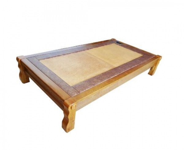 Magma low wooden bench$ 1,747